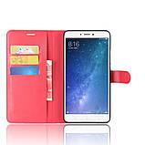 Чехол-книжка Bookmark для Xiaomi Mi Max 2 red, фото 5