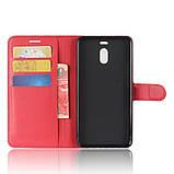Чехол-книжка Bookmark для Meizu M6 Note red, фото 4