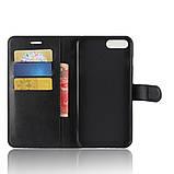 Чехол-книжка Bookmark для iPhone 7 Plus/8 Plus black, фото 4