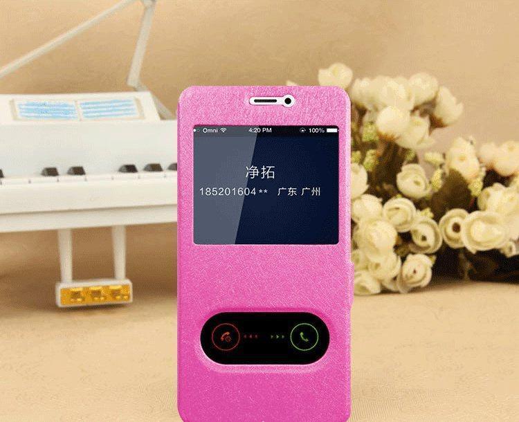 Чехол-книжка Holey для Meizu M6 pink