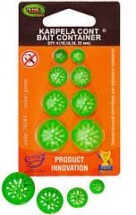 Karpela Cont - 10,14,18,20мм - 4шт/уп - Зеленый