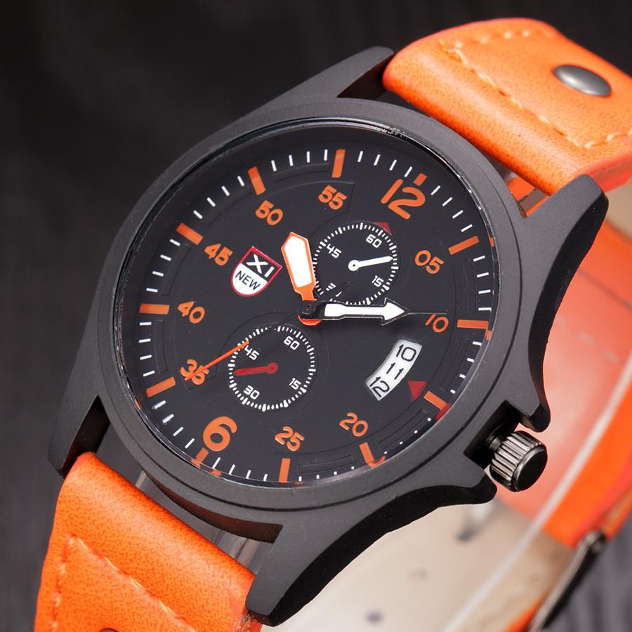 Годинники чоловічі наручні XI New orange