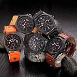 Годинники чоловічі наручні XI New orange, фото 5