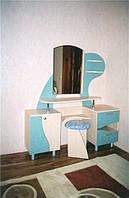 """Набор мебели для детской комнаты""""Русалочка""""Для девочки(туалетный стол,кровать)"""