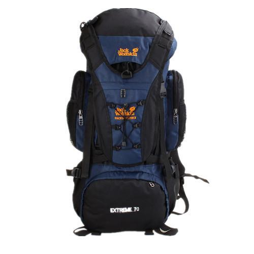 Рюкзак походный туристический 70 L Wolf terra dark blue