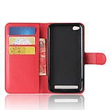 Чехол-книжка Bookmark для Xiaomi Redmi 5A red, фото 5