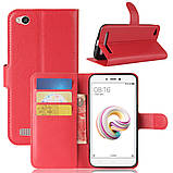 Чехол-книжка Bookmark для Xiaomi Redmi 5A red, фото 6