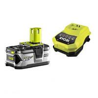 Акумулятор і зарядний пристрій Ryobi RBC18L40