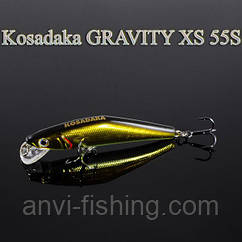 Воблер Kosadaka Gravity XS 55S