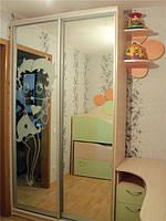 Набор  мебели для детской комнаты 2е деток(шкаф-купе,двухъярусная кровать,компьютерный стол), фото 1