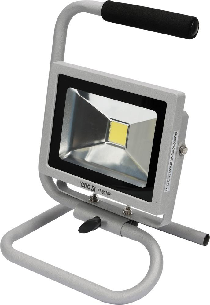 Светодиодный переносной прожектор 20W YATO YT-81799