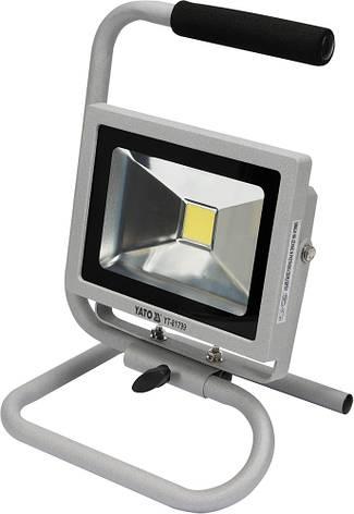 Светодиодный переносной прожектор 20W YATO YT-81799, фото 2