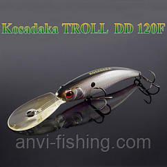 Воблер Kosadaka Troll DD 120F