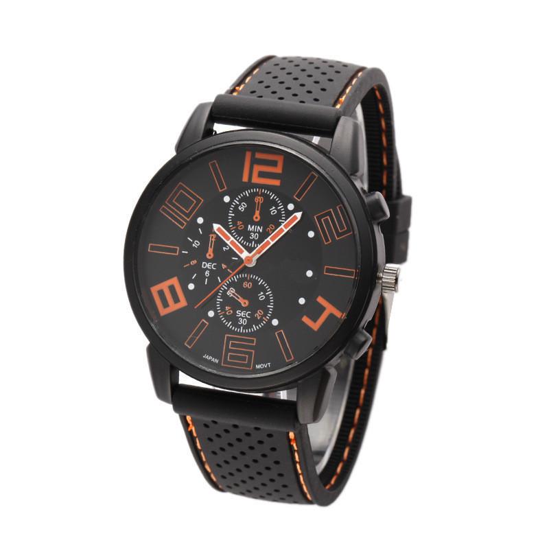 Годинники чоловічі наручні GT Sport orange