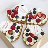 Пирожное Сердечки  на День Валентина, фото 6