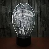 3D-лампа ночник с пультом Lumen Jelly, фото 2