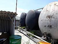 Железнодорожный котёл цистерна  63 м куб