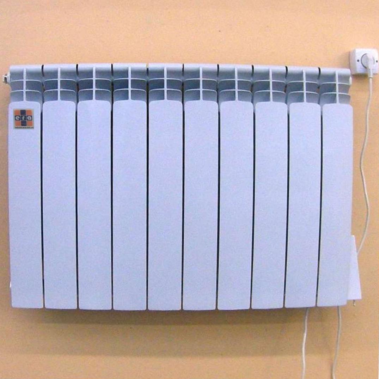Электрорадиатор ЭРА+ 10 секций 1200Вт, фото 1