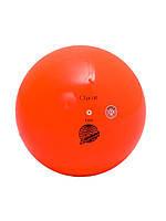 Мяч для гимнастики Chacott 65007-Practice 170мм/330г резина Orange 083