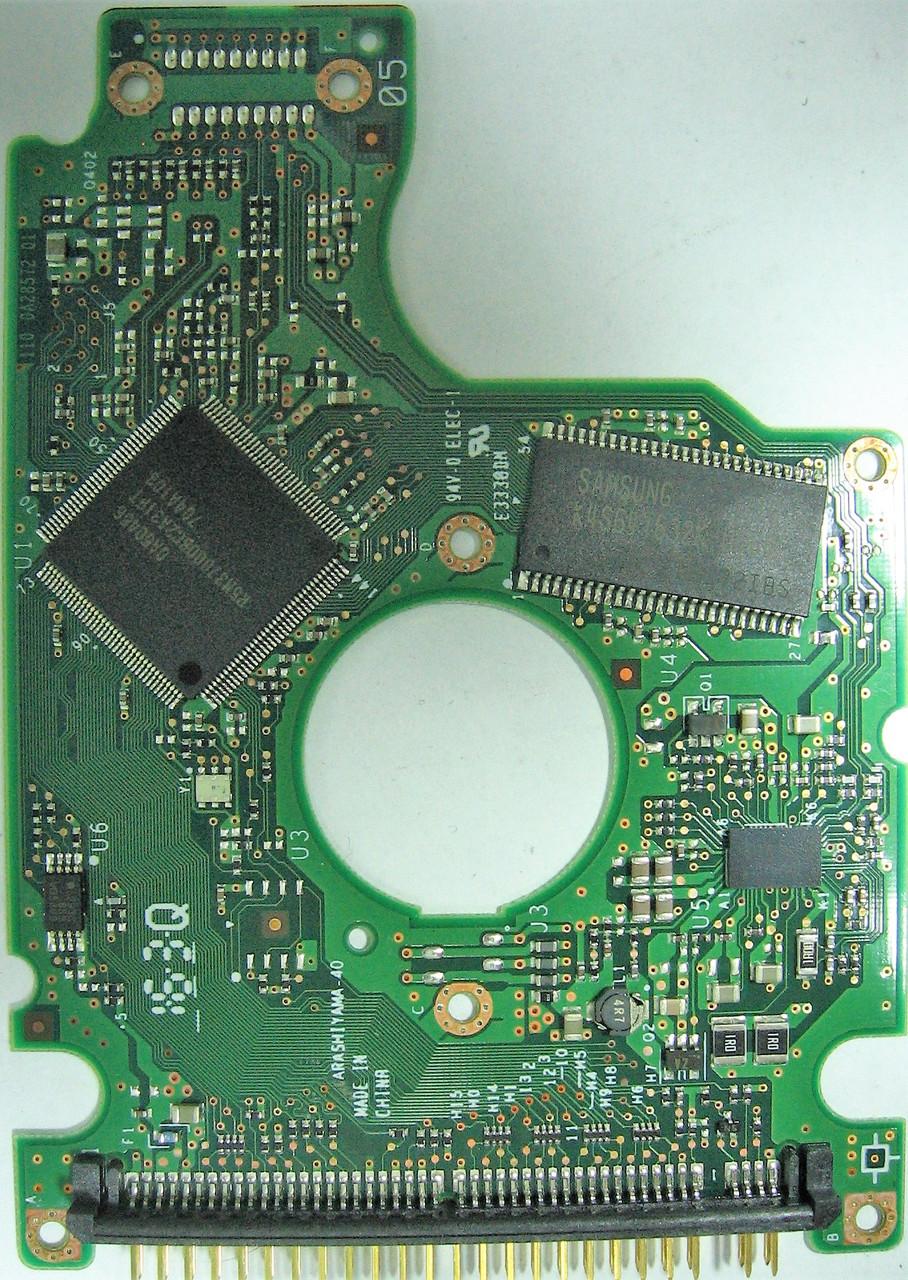 Плата HDD 160GB 5400rpm 8MB IDE 2.5 Hitachi HTS541616J9AT00 0A28572 w/o flash