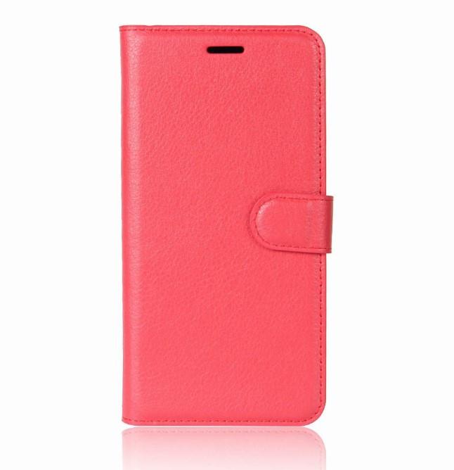 Чехол-книжка Bookmark для HUAWEI P20 red