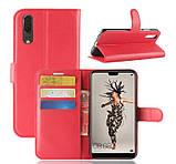 Чехол-книжка Bookmark для HUAWEI P20 red, фото 2