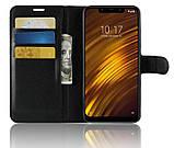 Чехол-книжка Bookmark для Xiaomi Pocophone F1 black, фото 5