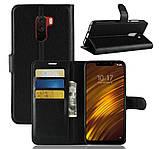 Чехол-книжка Bookmark для Xiaomi Pocophone F1 black, фото 6