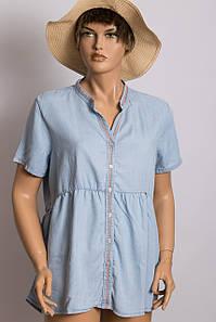 Рубашка с коротким рукавом женская XINT XINT 750547 MAVI