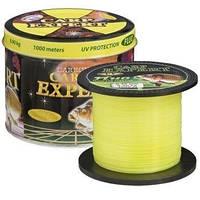 Леска Carp Expert UV Fluo Желтая Energofish 0.30mm 1000м 12.5кг