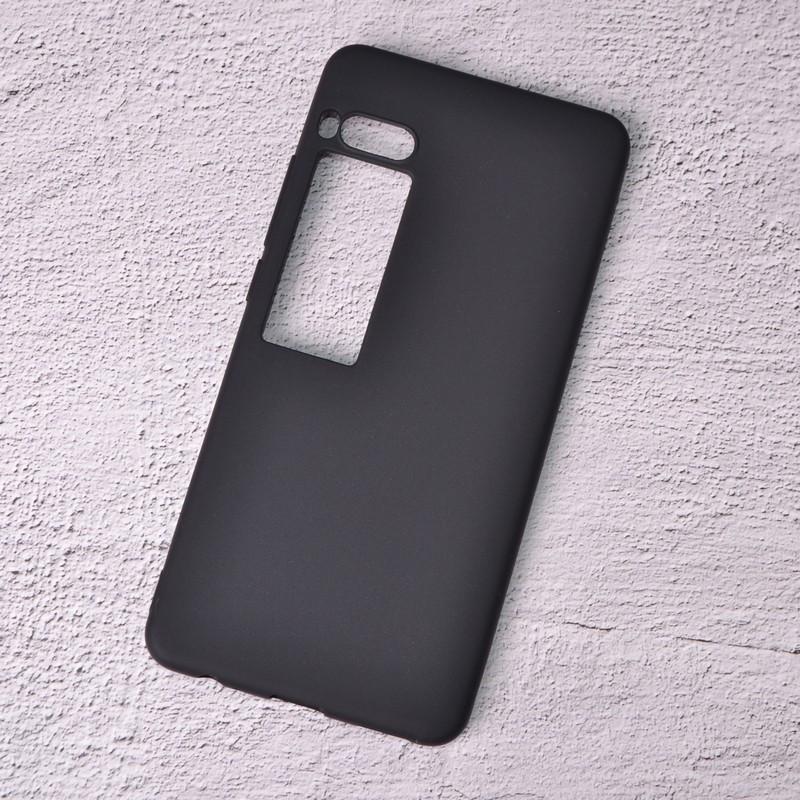 Силиконовый чехол SlimCase для Meizu Pro 7 black