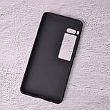 Силиконовый чехол SlimCase для Meizu Pro 7 black, фото 2