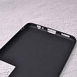 Силиконовый чехол SlimCase для Meizu Pro 7 black, фото 4