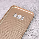 Чехол накладка Loco для Samsung Galaxy S8 Plus/G955 gold, фото 4
