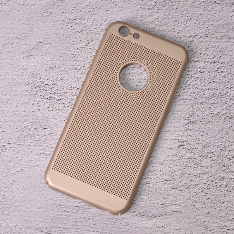 Чехол накладка Loco для iPhone 6/6s gold