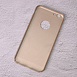 Чехол накладка Loco для iPhone 6/6s gold, фото 2