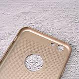 Чехол накладка Loco для iPhone 6/6s gold, фото 3
