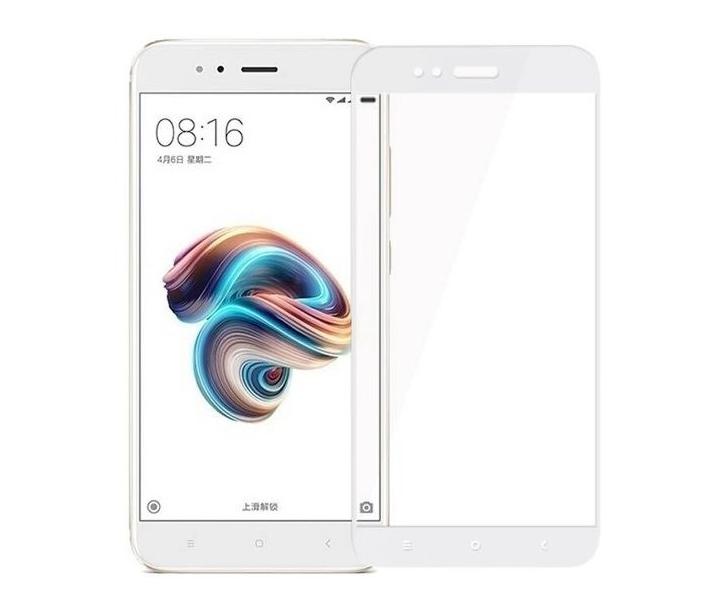 Защитное стекло 5D Future Full Glue для Xiaomi Mi A1 (Mi 5x) white
