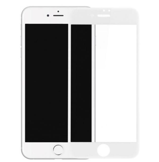 Защитное стекло 5D Future Full Glue для iPhone 7 / iPhone 8 white