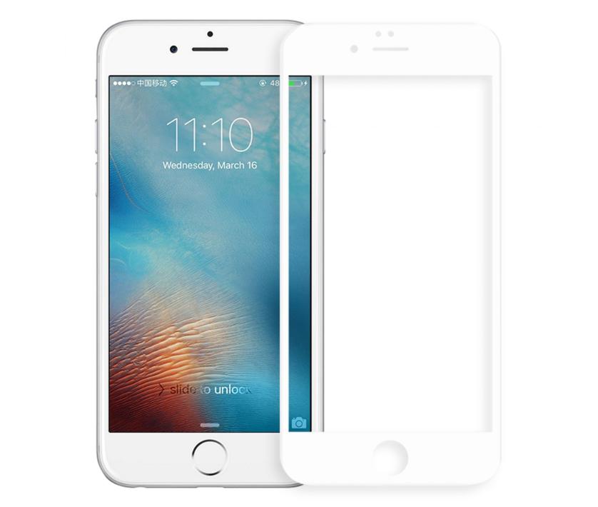 Защитное стекло 5D Future Full Glue для iPhone 6/6s white