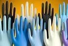 Перчатки смотровые латексные Medicare (нестерильные, без пудры, внутренняя поверхность покрыта полимерами,, фото 4