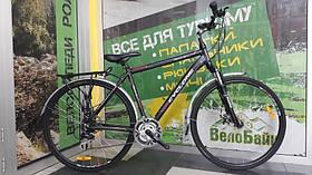 """Велосипед CYCLONE 28"""" DISCOVERY DISK чорний/матовий 2013 CY0012"""