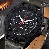 Часы мужские наручные XI New Tiger army green-black