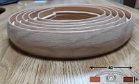 Порог для криволинейных стыков шириной 40 мм Ideal, 3,0 м Дуб сафари, фото 1