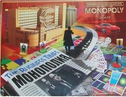 Игра настольная для компании.Настольная игра Монополия.