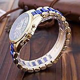 Годинники жіночі наручні Geneva Місті blue, фото 2