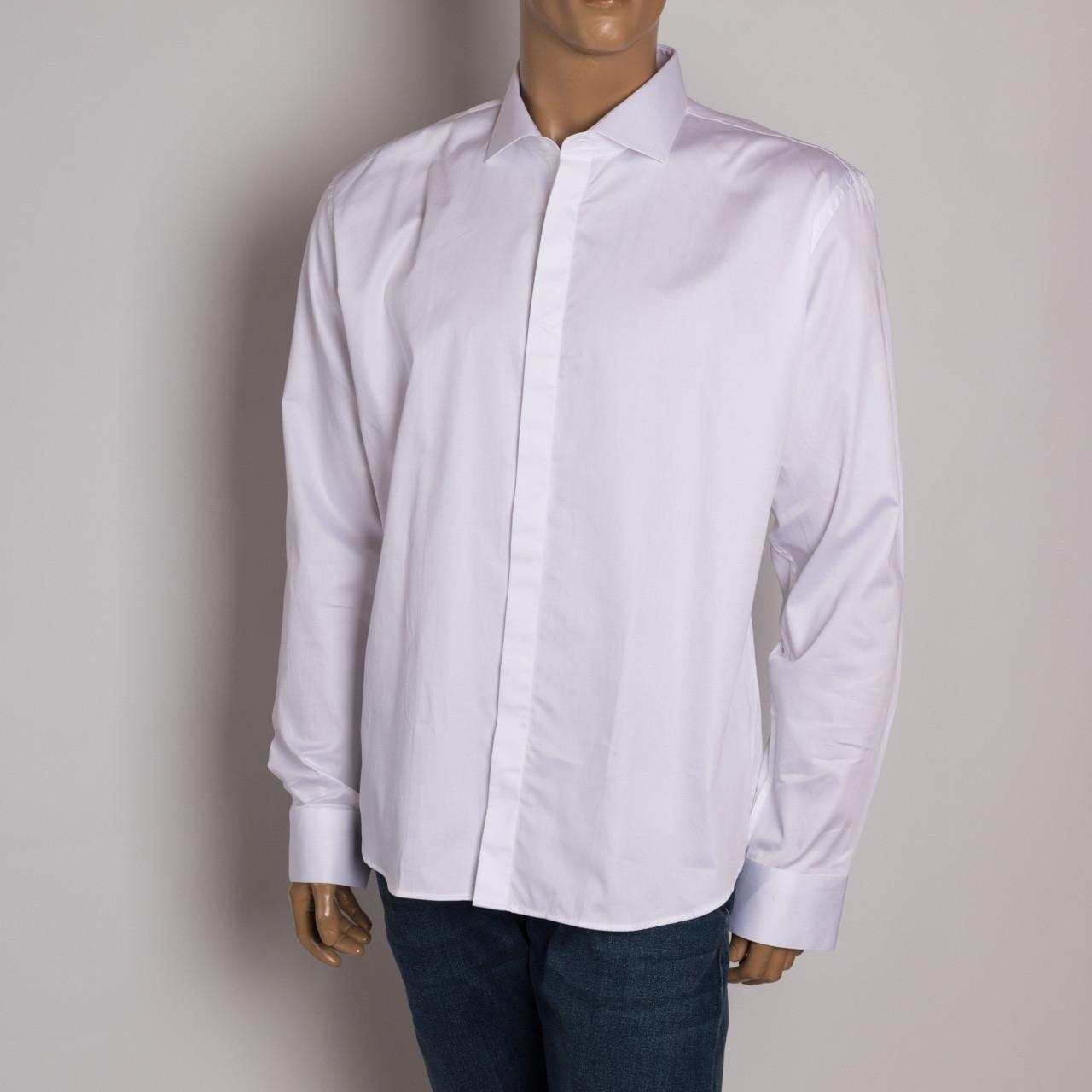 Рубашка с длинным рукавом мужская ZEN-ZEN 11301 BEYAZ