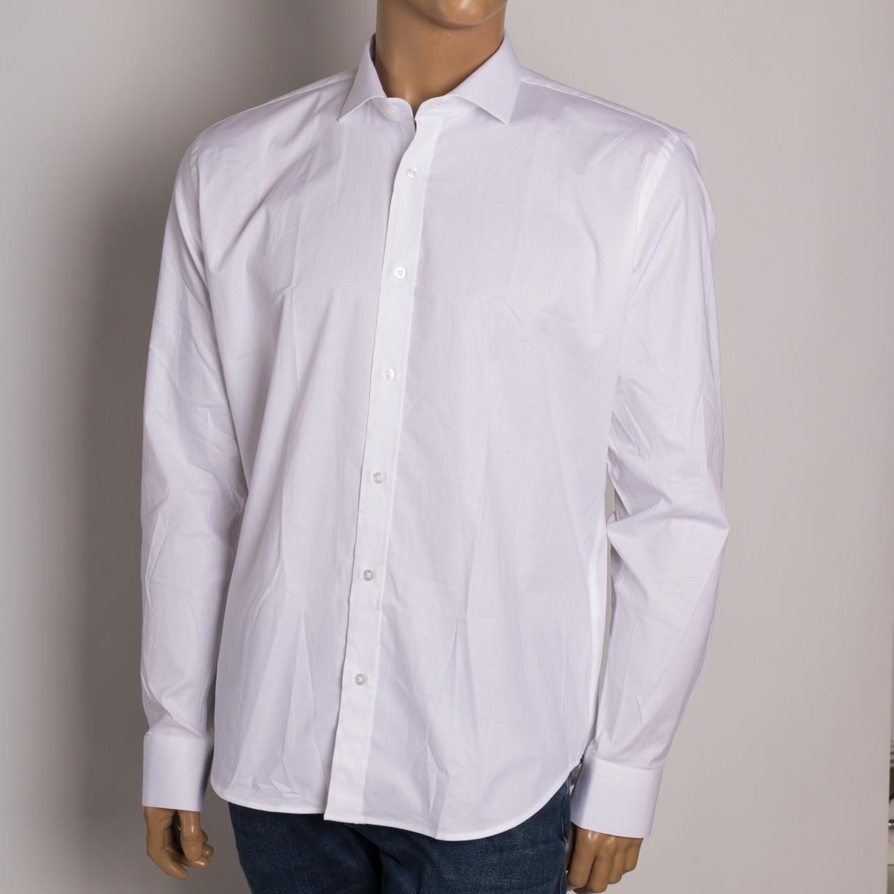 Рубашка с длинным рукавом мужская ZEN-ZEN 21001 BEYAZ