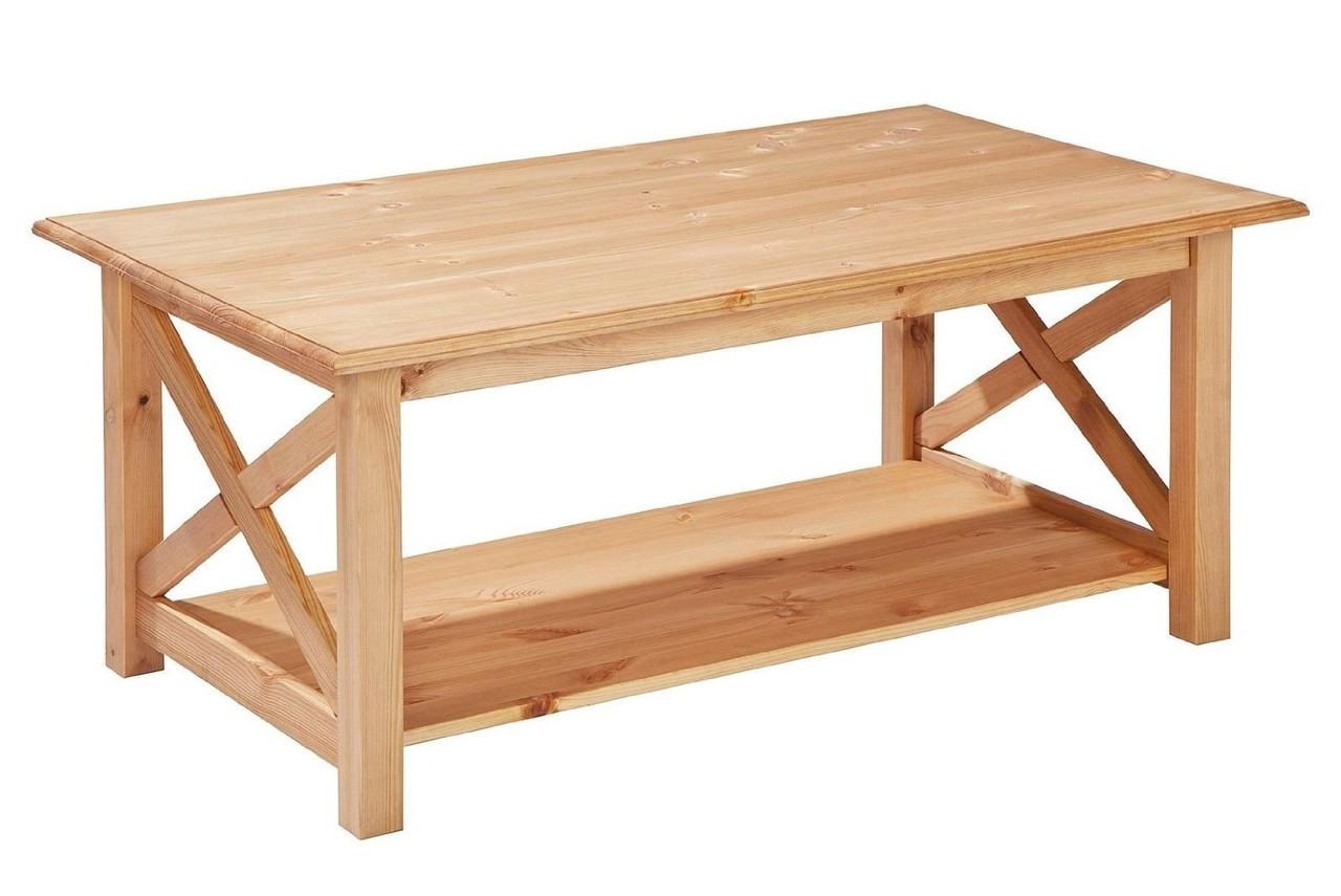Стол журнальный из дерева 043