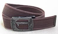 Мужской коричневый тканевый ремень G-STAR, фото 1